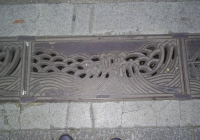 三峽老街截水溝蓋II