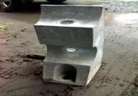 雙管鍍鋅欄杆座
